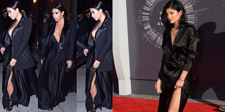 elle-kim-kylie-black-dress