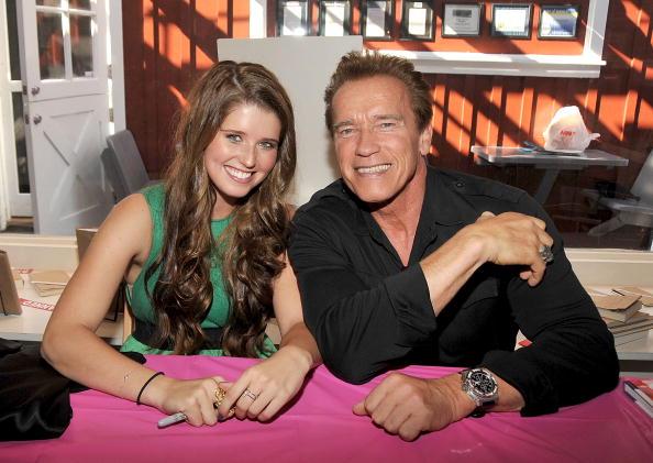 Arnold & Katherine Schwarzenegger