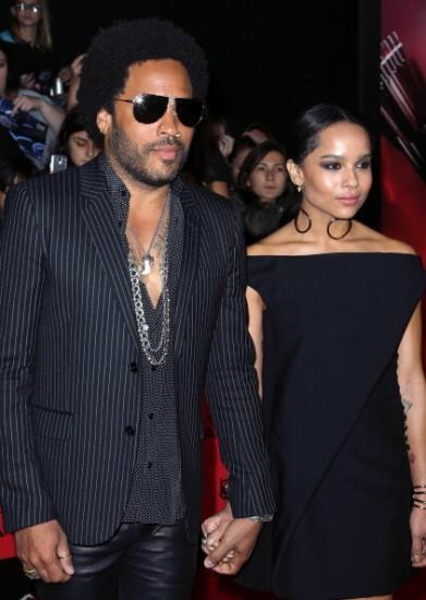 Lenny & Zoë Kravitz