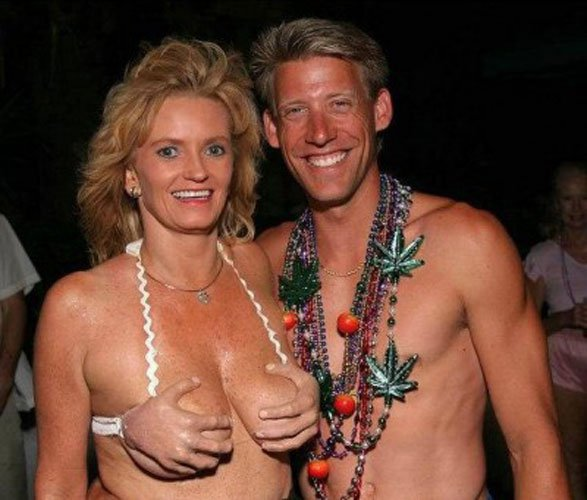 Batch 4- Caught on Camera- 29 Most Embarrassing Moments of this Decade- Unconventional Bikini Top