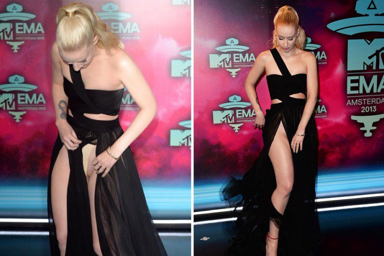 Celebrity clothing mishaps