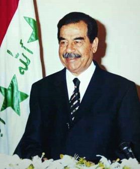 Iraqi leader and hated dictator, Saddam filled people with fear and anger.