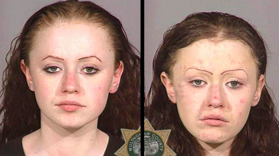 pictures of people on meth