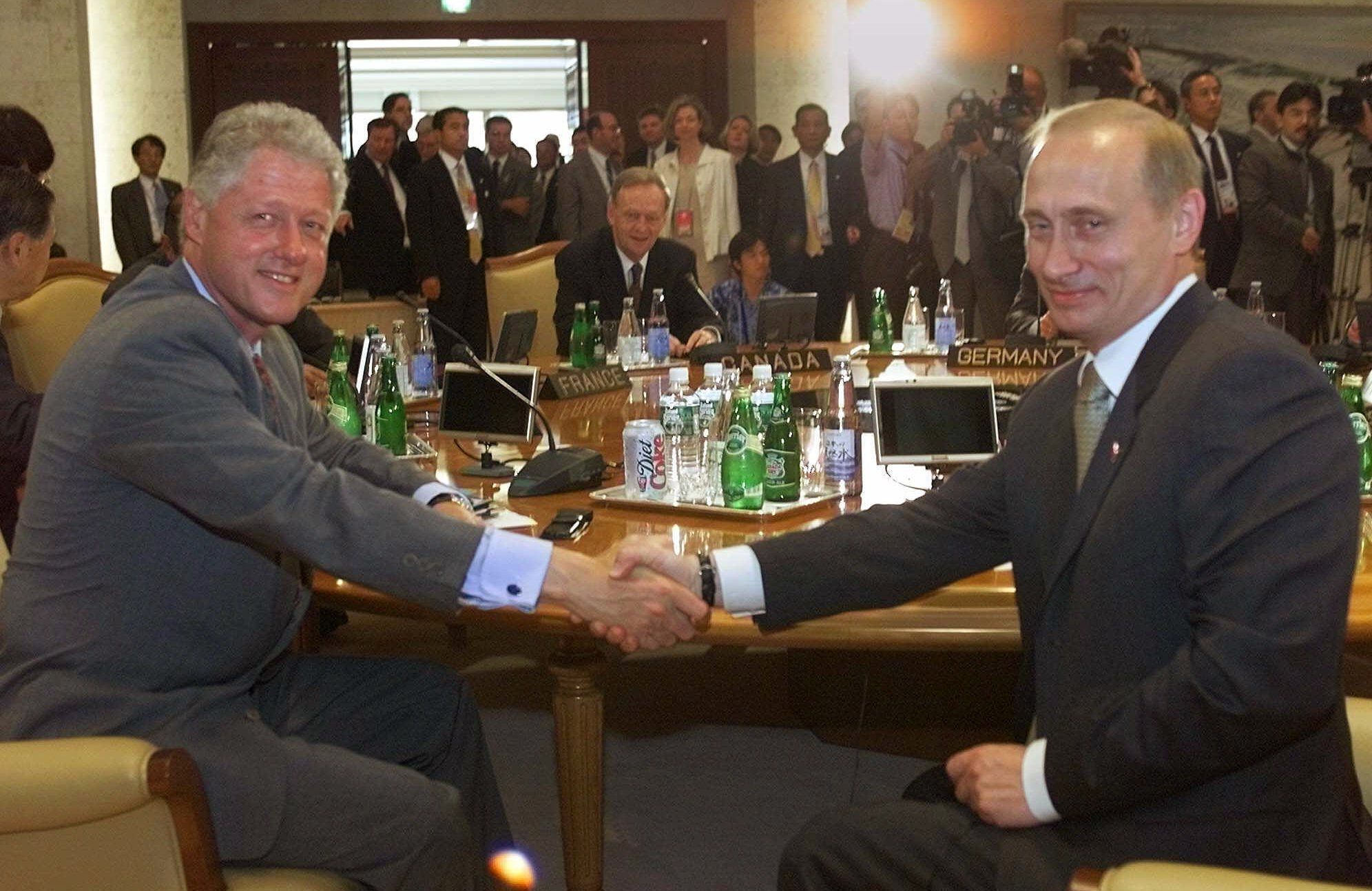 clinton and putin
