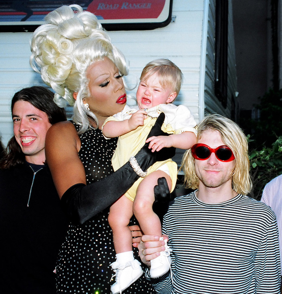 kurt cobain and rupaul