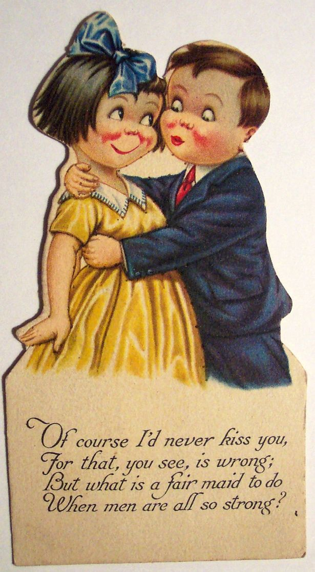 Weird And Creepy Vintage Valentine S Day Cards