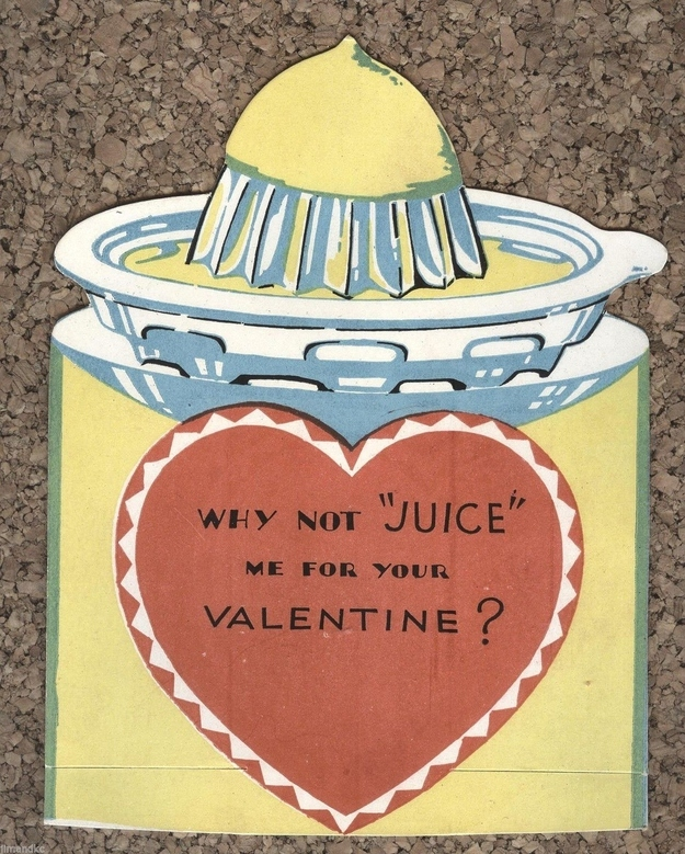 Weird And Creepy Vintage Valentines Day Cards