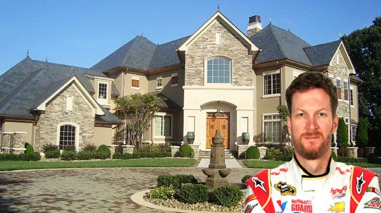 amazing homes of nascar drivers