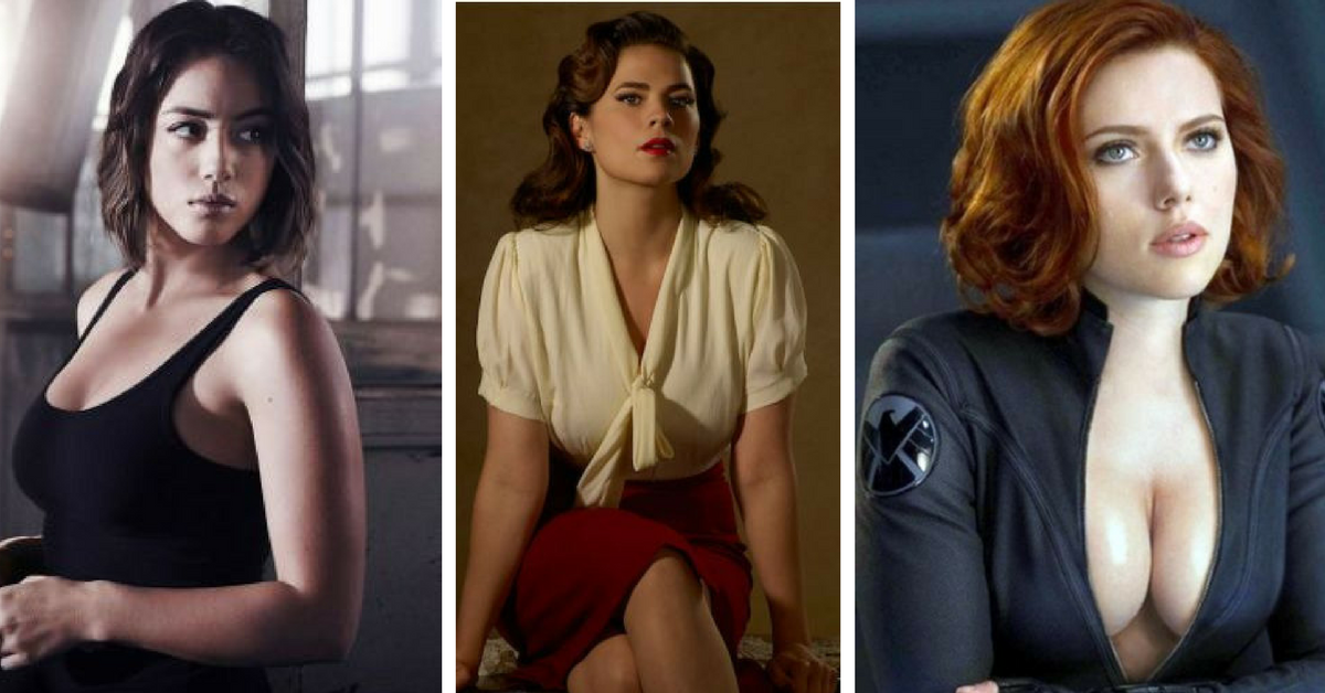 Hottest Women In The Marvel Cinematic Universe Ranked-5626