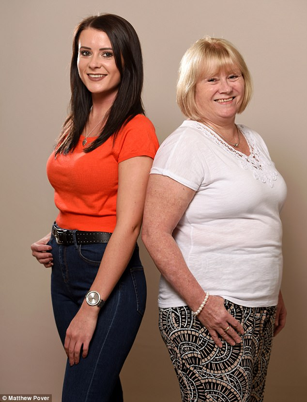 Unreal This Mother And Daughter Swapped Breast Sizes-8220